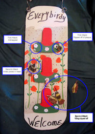 Hummingbird Plaque Attack - Click to View Larger Image